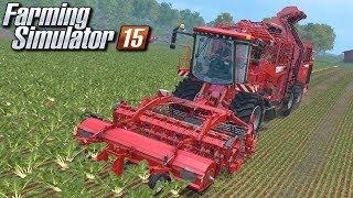 Buraki i ziemniaki - Farming Simulator 15   (#7)