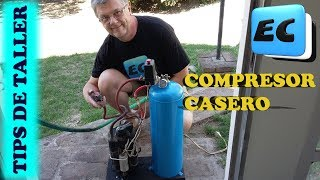 Como hacer un compresor casero para el taller DIY