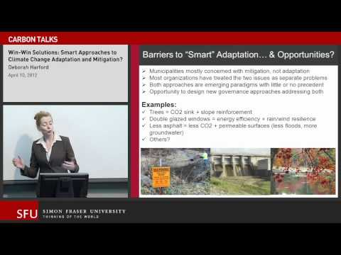 Win-win solutions: Smart Approaches to Climate Change Adaptation and Mitigation?