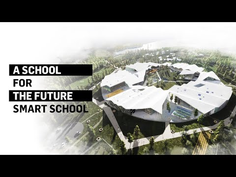 Smart School - A School for the Future | CEBRA Architecture