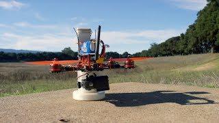 Stanford students design and build autonomous delivery drones