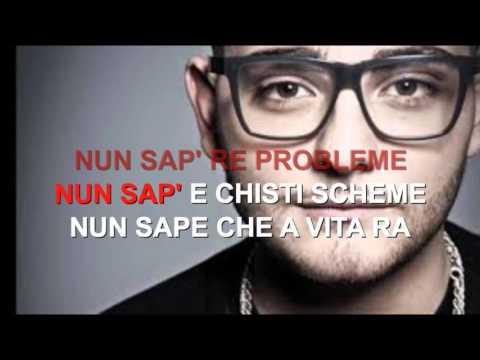Rocco Hunt Nu Juorno Buono Karaoke Con Testo Youtube