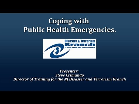 Coping with Public Health Emergencies