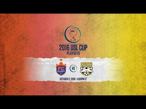 WATCH LIVE: FC Cincinnati vs Charleston Battery 10-02-16