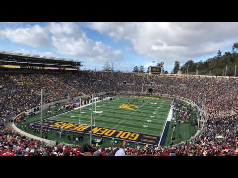 Stanford 10 Cal 0 End Of 1st Quarter 2018 Big Game