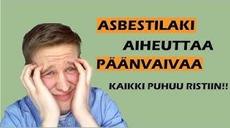 Asbesti: Mitä remontoijan pitää tietää!