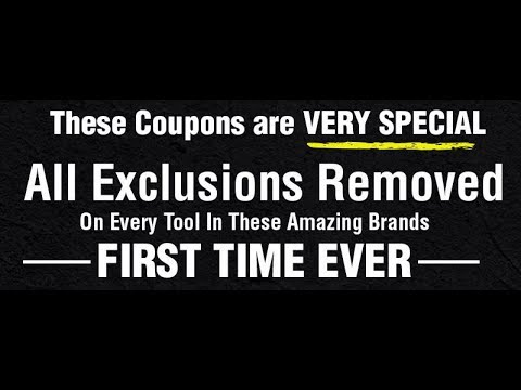 Harbor Freight: All Exclusions Removed! FIRST TIME EVER!