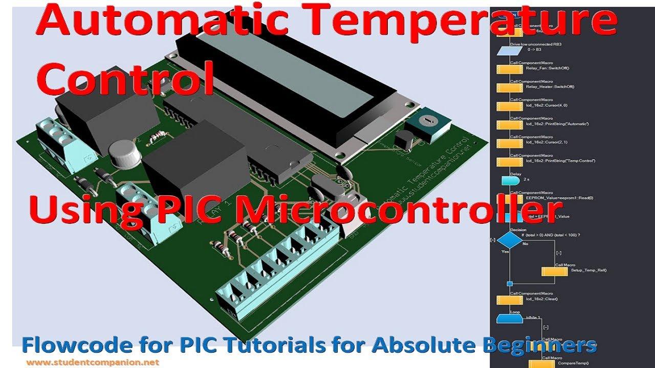 Automatic Temperature Control with PIC   StudentCompanion