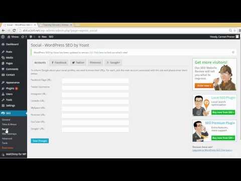 WordPress Tutorial   WordPress SEO by Yoast