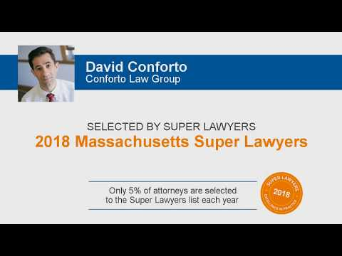 David Conforto Boston Employment Lawyer 2018 Super Lawyers