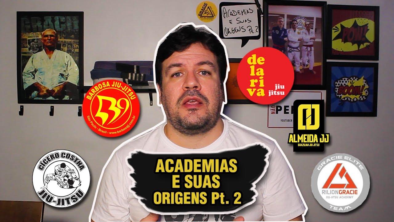 ACADEMIAS DE JIU JITSU E SUAS ORIGENS Pt. 2