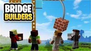 Prostě zničíš jeřáb a postavíš most 🔨👍 Bridge Builder [Minecraft]
