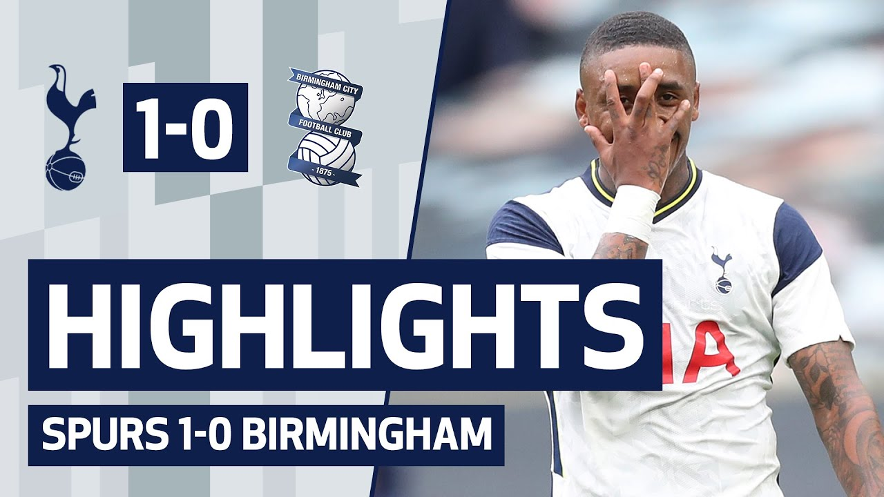 HIGHLIGHTS | SPURS 1-0 BIRMINGHAM