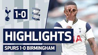 HIGHLIGHTS | SPURS 1-0 BIRMINGHAM