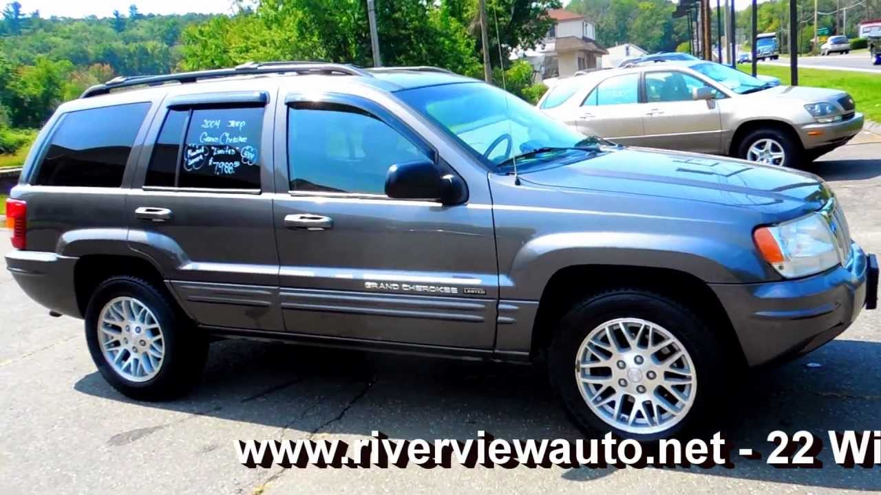 2004 jeep grand cherokee limited 4wd 4dr suv 4 7l v8 at leather moonroof youtube. Black Bedroom Furniture Sets. Home Design Ideas