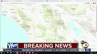 4.9-magnitude Earthquake Rocks Anza, Felt Across San Diego