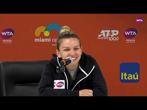 Simona Halep | Miami Open 2019 Fourth Round | Press Conference
