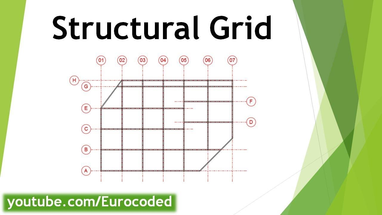 Grid Reference on Structural Drawings