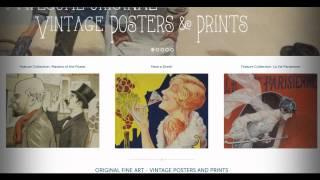 rue marcellin original vintage posters prints