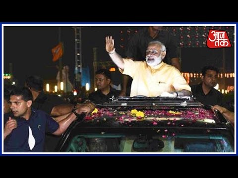 Highlights Of PM Narendra Modi's Grand Roadshow In Gujarat's Surat