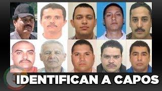 Dea identifica a los líderes de los Cárteles del Narcotráfico en México