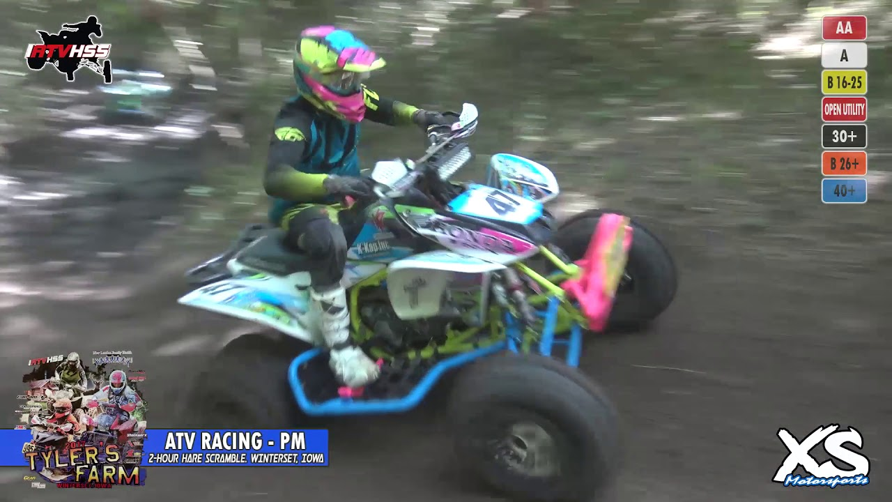 ATV Racing (PM) - IATVHSS Rd 4 Tyler's Farm