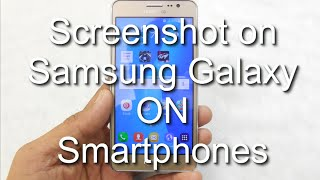 How to Take Screenshot on Samsung Galaxy ON5, ON6, ON7, On5 Pro, On7 Pro, A50, A70