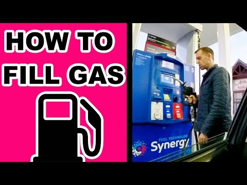 HOW TO FILL IN GAS