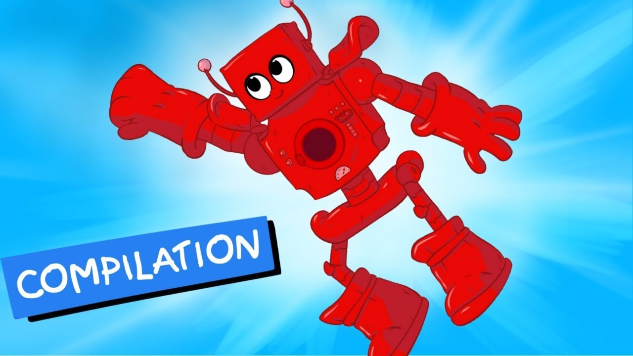 My Red Robot   My Magic Pet Morphle Kids Videos