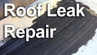 Roof Leak Repair, Fix A Leaking Roof : Gardenfork.tv