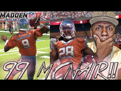 99 OVERALL STEVE MCNAIR SHINES! INTERCEPTION PARTY!! MUT 17 GAMEPLAY | Madden 17 Ultimate Team