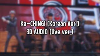 Gambar cover [3D AUDIO] EXO-CBX (첸백시) - Ka-CHING! (Korean Ver.) (live ver.)