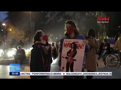 Protestujący narażają seniorów