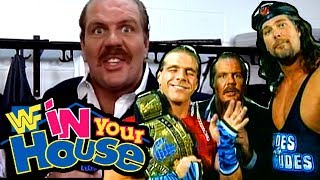 Going in Raw Reviews WWF IN YOUR HOUSE 3: TRIPLE HEADER!