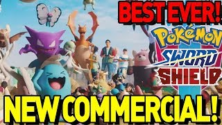 The BEST Pokemon Commercial EVER! Pokemon Sword and Shield New Advert and Pokedex Discussion!