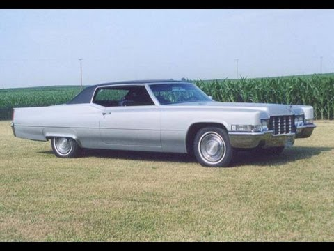 Ride in my 1969 Cadillac Coupe DeVille - YouTube