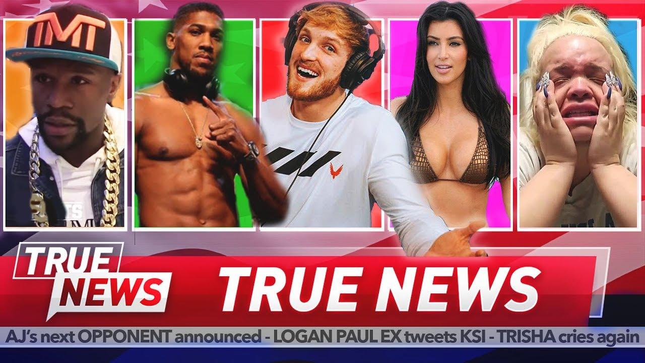 TRUE NEWS! Floyd Mayweather, Logan Paul, Kim Kardashian & More
