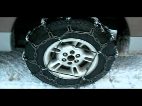 Tire Chains Simple Installation Youtube