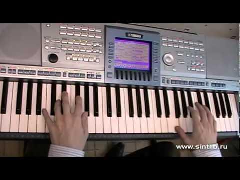 Елка - Прованс игра на синтезаторе
