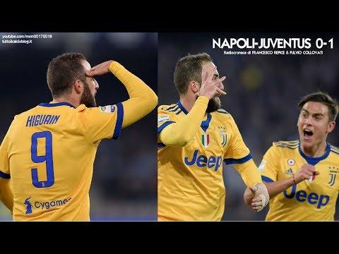 NAPOLI-JUVENTUS 0-1 - Radiocronaca di Francesco Repice & Fulvio Collovati (1/12/2017) da Rai Radio 1