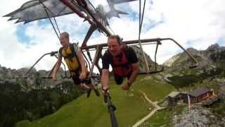 Skyglider AirRofan -- Adlerflug mit GoPro HD Hero