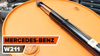 Come sostituire Kit ammortizzatori MERCEDES-BENZ E-CLASS (W211) - video gratuito online