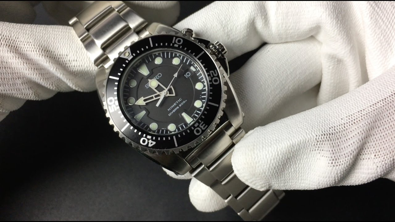 Adjusting The Bracelet Of Seiko Kinetic Ska371p1 English