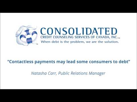 Contactless payments may lead some consumers to debt