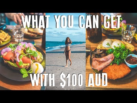 WHAT I EAT IN DAY IN MELBOURNE: What You Can Get With $100 AUD!