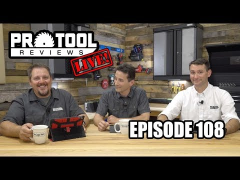 PTR Live! Ep 108 - Exploding Trees and Cordless Pinners