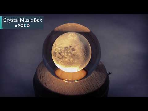 Crystal Ball Music Box From Apollo Box