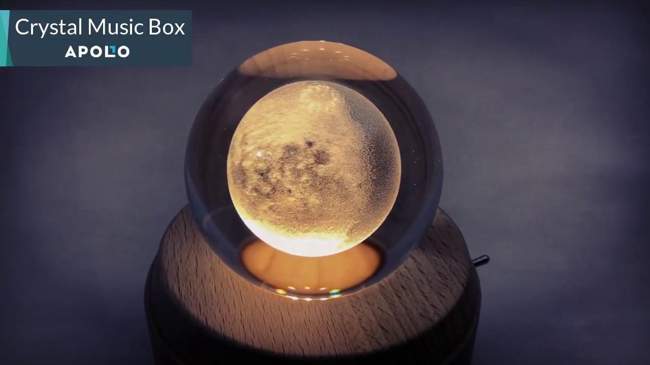 Crystal Ball Music Box From Apollo Box - YouTube