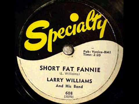 LARRY WILLIAMS   Short Fat Fannie  Jun '57