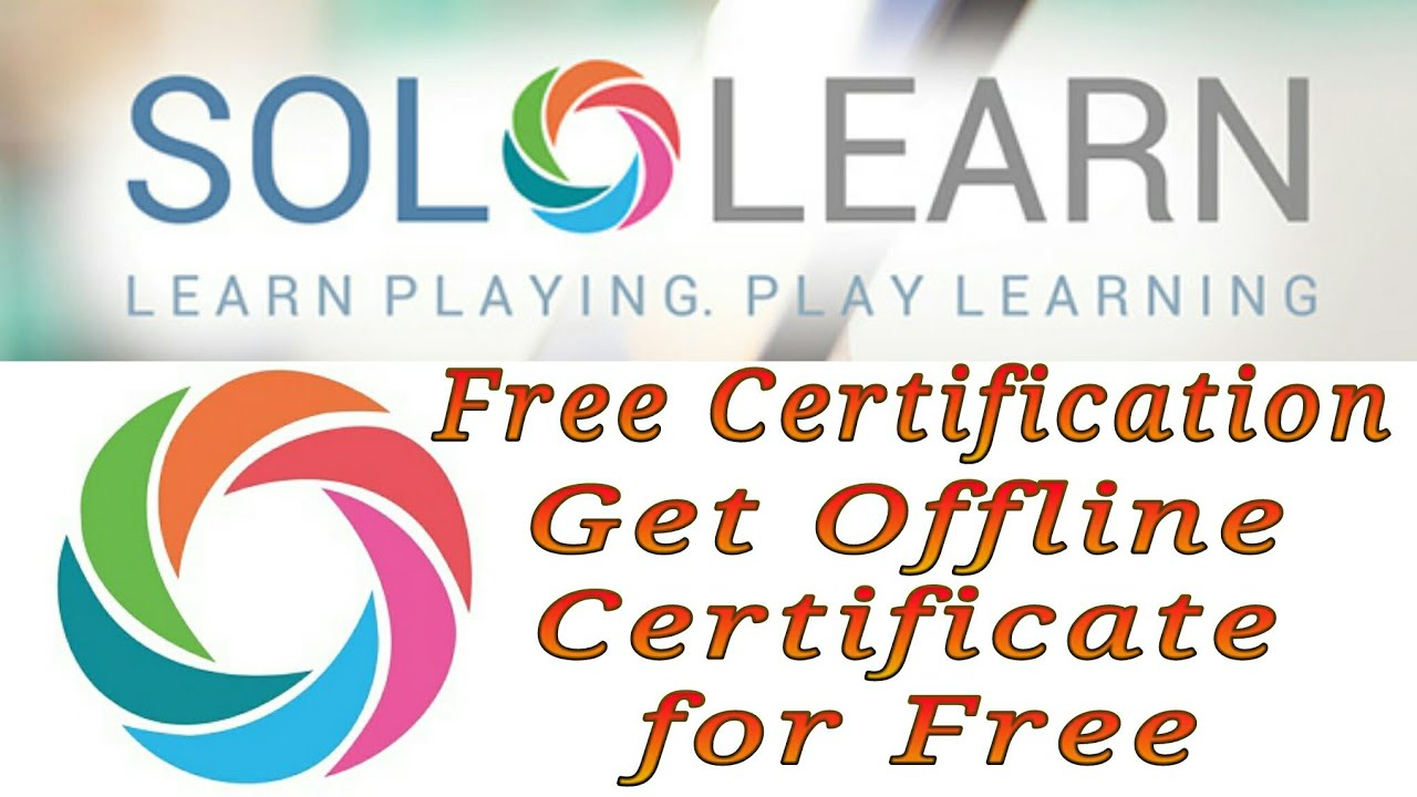 Sololearn How To Use Solo Learn Free Certification How To Get